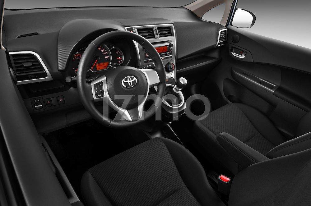 High angle dashboard view of a 2011 Toyota Verso-S Terra 5 Door Hatchback