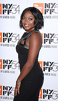 "NEW YORK, NY-September 30:Naturi Naughton at 54th New York Film Festival - Opening Night Gala Presentation And ""13th"" World Premiere at Alice Tully Hall at Lincoln Center in New York. September 30, 2016. Credit:RW/MediaPunch"
