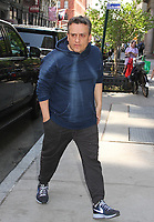 NEW YORK, NY - MAY 3: 'Avengers: Infinity War' directors, Anthony Russo and Joe Russo (The Russo Brothers) spotted arriving at 'Build Series'  in New York, New York on May 3, 2018.  Photo Credit: Rainmaker Photo/MediaPunch