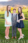 Anna Tyther, Seamus Giles and Nicola English Beaufort at the Beaufort Youth Club Ball in aid of the Donal Walsh foundation in the Dunloe Castle Hotel on Friday night