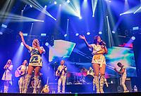 SÃO PAULO, SP, 08.08.2018 - SHOW-SP- Abba durante show no Espaço das Américas em São Paulo, nesta quarta-feira, 08. (Foto: Bruna Grassi/Brazil Photo Press)