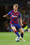 UEFA Champions League 2019/2020.<br /> Matchday 4.<br /> FC Barcelona vs SK Slavia Praha: 0-0.<br /> Frenkie de Jong.