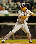 8 September 2006: Bernie Castro, infielder for the Washington Nationals, in action against the Colorado Rockies. The Rockies defeated the Nationals 10-5 in a rain-delayed game at Coors Field in Denver, Colorado. ..Mandatory Photo Credit: Ed Wolfstein..