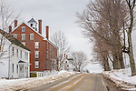 Sabbathday Lake Shaker Village in New Gloucester, Maine, USA