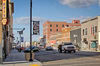 Downtown Miami Oklahoma on Route 66.