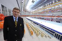 SPEEDSKATING: SOCHI: Adler Arena, 22-03-2013, Jan Dijkema nieuwe voorzitter van de internationale schaatsunie, (ISU President Speed Skating), ©foto Martin de Jong
