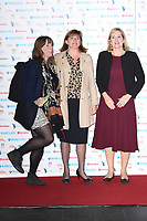 Jess Phillips, Nicky Morgan and Amber Rudd<br /> arriving for the Women of the Year Awards 2018 and the Hotel Intercontinental London<br /> <br /> ©Ash Knotek  D3443  15/10/2018