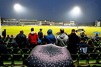 Rain delay during the Vitality Blast south group game between Kent Spitfires and Surrey at the St Lawrence ground, Canterbury, on Fri July 20, 2018