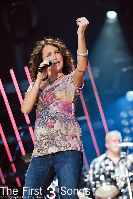Ashton Sheperd performs at LP Field during the 2011 CMA Music Festival on June 10, 2011 in Nashville, Tennessee.
