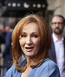 J.K. Rowling attends the Broadway Opening Day performance of 'Harry Potter and the Cursed Child Parts One and Two' at The Lyric Theatre on April 22, 2018 in New York City.