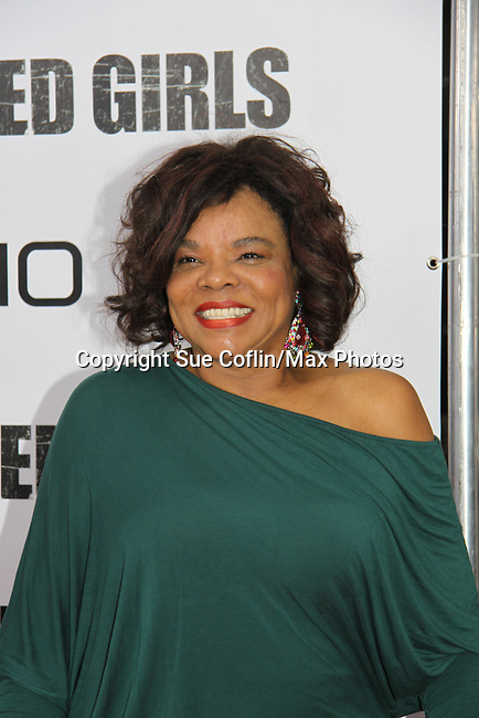 "Jamie Foster Brown attending The New York Special Screening of Tyler Perry's next film ""For Colored Girls"" on October 25, 2010 at the Ziegfield Theater, New York City, New York. (Photo by Sue Coflin/Max Photos)"