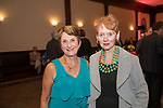 Waterbury, CT-22, September 2017-092217CM12 Social Moments from left---  Lucille Parson of BantamWesson and Baraba Beverly Bucari are photographed during the Ninth Annual Brass Button Awards at the Mattatuck Museum in Waterbury.   Christopher Massa Republican-American