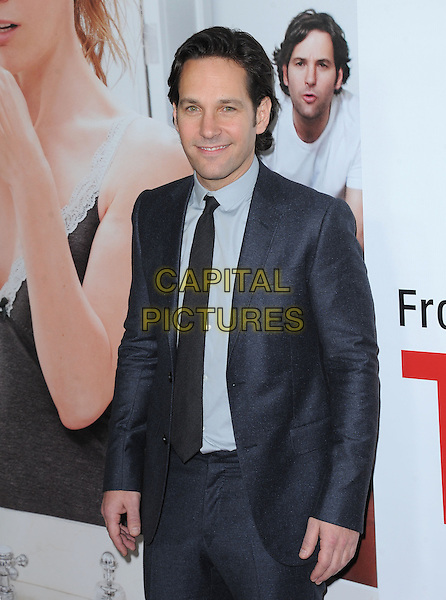 "Paul Rudd .""This Is 40"" Los Angeles Premiere held at Grauman's Chinese Theatre, Hollywood, California, USA..December 12th, 2012.half length blue suit .CAP/DVS.©DVS/Capital Pictures."