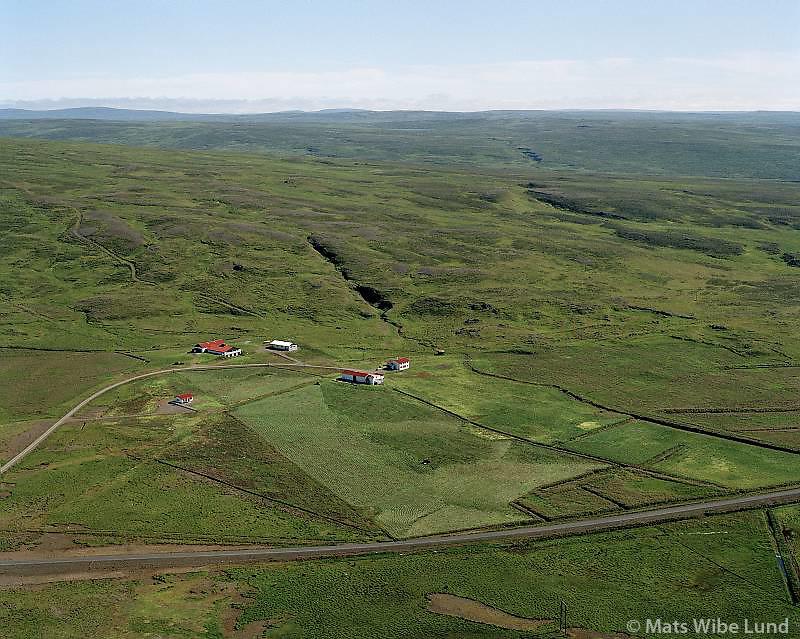 Ásgarður séð til suðausturs, Dalabyggð áður Hvammshreppur / Asgardur viewing southeast, Dalabyggd former Hvammshreppur.