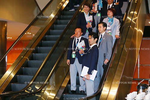 Naoki Inose, <br /> SEPTEMBER 7, 2013 : <br /> the 2020 Summer Olympic Games bid fianl presentation during the 125th International Olympic Committee (IOC) session in Buenos Aires Argentina, on Saturday September 7, 2013. <br /> (Photo by YUTAKA/AFLO SPORT) [1040]