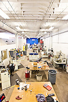 TechShop pictures: interior photography of  TechShop in San Francisco by San Francisco corporate architecture photographer Eric Millette