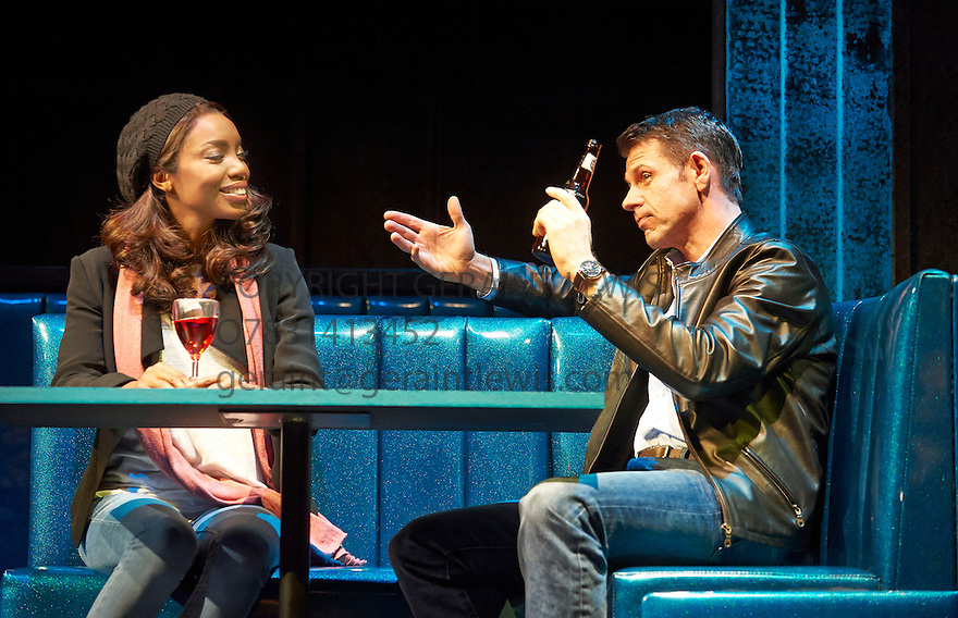 The Bodyguard. A Musical based on the Warner Brothers Film . Book by Alex Dinelaris , directed by Thea Sharrock. With Heather Headley as Rachel Marron, Lloyd Owen as Frank Farmer. Opens at The Adelphi Theatre on 5/12/12 . CREDIT Geraint Lewis