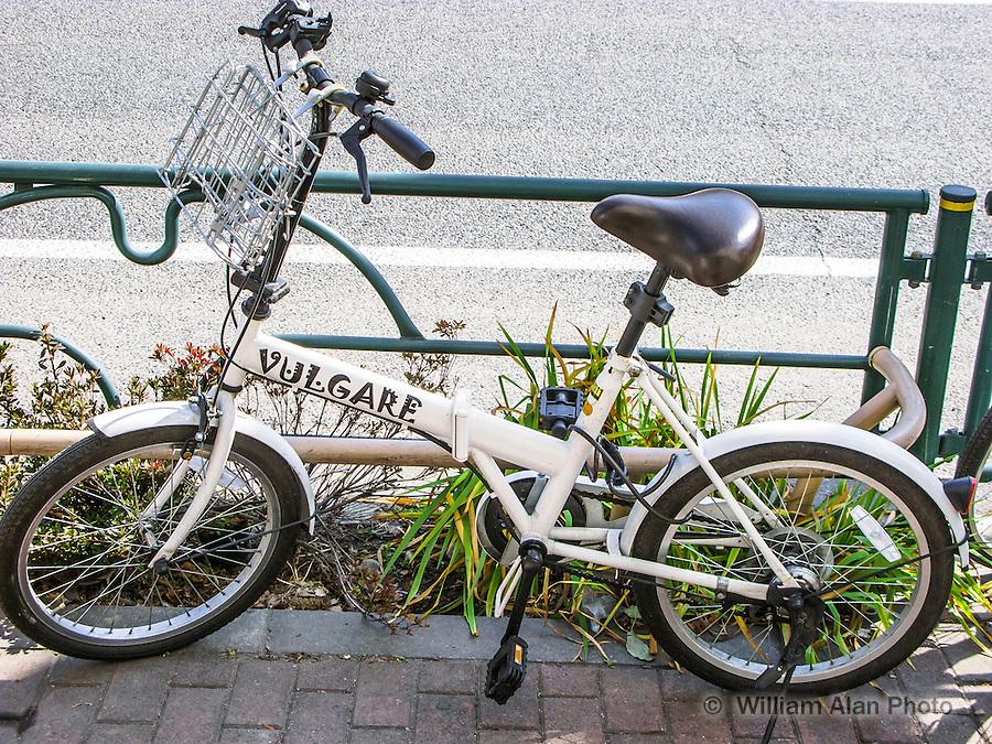 Vulgare Bike in Ota, Japan 2014.