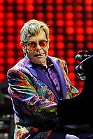 JUN 07 Elton John performing at Genting Arena