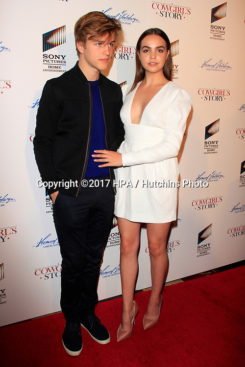 "LOS ANGELES - APR 13:  Alex Lange, Bailee Madison at the ""A Cowgirl's Story"" Premiere at the Pacific Theatres at The Grove on April 13, 2017 in Los Angeles, CA"