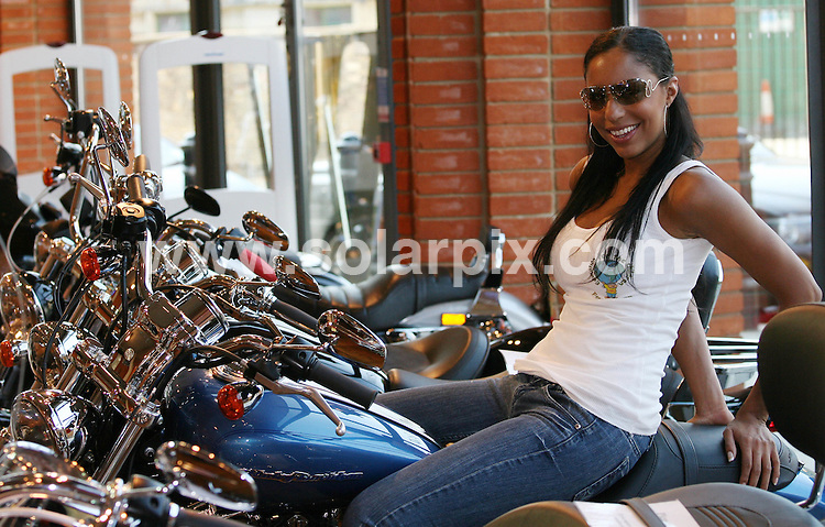 **ALL ROUND PICTURES FROM SOLARPIX.COM**.**WORLDWIDE SYNDICATION RIGHTS**.The Harley Davidson Charity Bike Ride at Warr's Harley Davidson Store in Kings Road, London, UK. 9 August 2009..This pic: Sue-Elise Nash..JOB REF: 9723 LNJ     DATE: 09_08_2009.**MUST CREDIT SOLARPIX.COM OR DOUBLE FEE WILL BE CHARGED**.**MUST NOTIFY SOLARPIX OF ONLINE USAGE**.**CALL US ON: +34 952 811 768 or LOW RATE FROM UK 0844 617 7637**