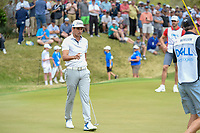 Rafael Cabrera Bello (ESP) after sinking his long putt on 18  during day 3 of the World Golf Championships, Dell Match Play, Austin Country Club, Austin, Texas. 3/23/2018.<br /> Picture: Golffile | Ken Murray<br /> <br /> <br /> All photo usage must carry mandatory copyright credit (&copy; Golffile | Ken Murray)