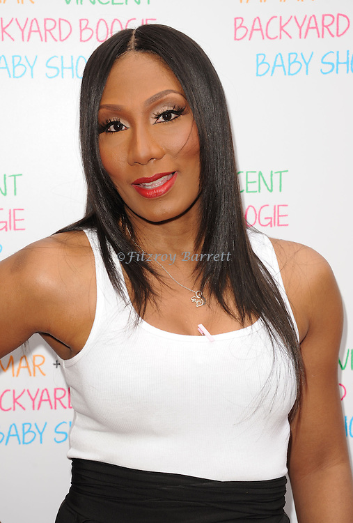 May 5, 2013   Beverly Hills, Ca..Towanda Braxton.Tamar Braxton celebrates her Carnival Themed Baby Shower with friends and family, at the Hotel Bel Air..© Fitzroy Barrett / AFF-USA.COM