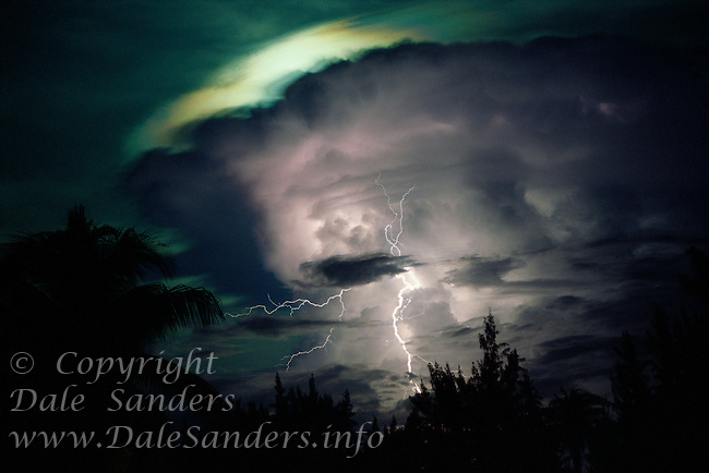 Lightning Storm, <br /> Grand Cayman Island,<br /> British West Indies