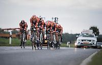 Team Roompot - Oranje Peloton <br /> <br /> 12th Eneco Tour 2016 (UCI World Tour)<br /> stage 5 (TTT) Sittard-Sittard (20.9km) / The Netherlands