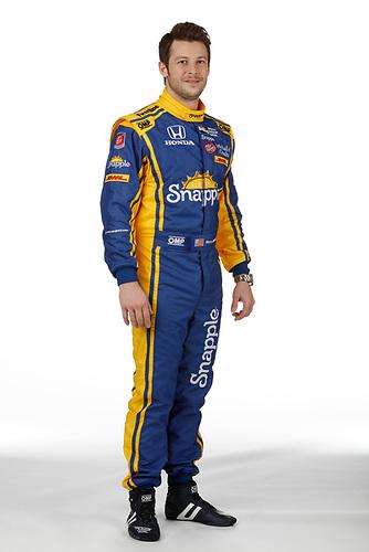 2 February, 2016, Indianapolis, Indiana USA<br /> Marco Andretti<br /> ©2016, Michael L. Levitt<br /> LAT Photo USA