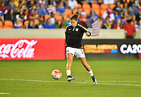 Houston, TX. - February 19, 2016: The U.S. Women's National team take on Trinidad & Tobago in CONCACAF Women's Olympic Qualifying at BBVA Compass Stadium.