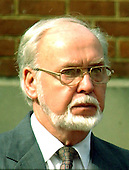 """Arlington, VA - October 21, 2002 -- Head shot of Charles Moore, father of Linda Franklin, the victim of the """"Beltway Sniper"""" who was laid to rest on 21 October, 2002.<br /> Credit: Ron Sachs / CNP                            <br /> (RESTRICTION: NO New York or New Jersey Newspapers or newspapers within a 75 mile radius of New York City)"""