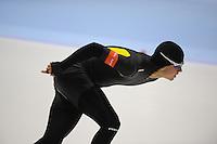 SCHAATSEN: HEERENVEEN: IJsstadion Thialf, 06-10-2012, Trainingswedstrijd, Maurice Vriend, ©foto Martin de Jong
