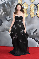 Ella Hunt at the European premiere for &quot;King Arthur: Legend of the Sword&quot; at the Cineworld Empire in London, UK. <br /> 10 May  2017<br /> Picture: Steve Vas/Featureflash/SilverHub 0208 004 5359 sales@silverhubmedia.com