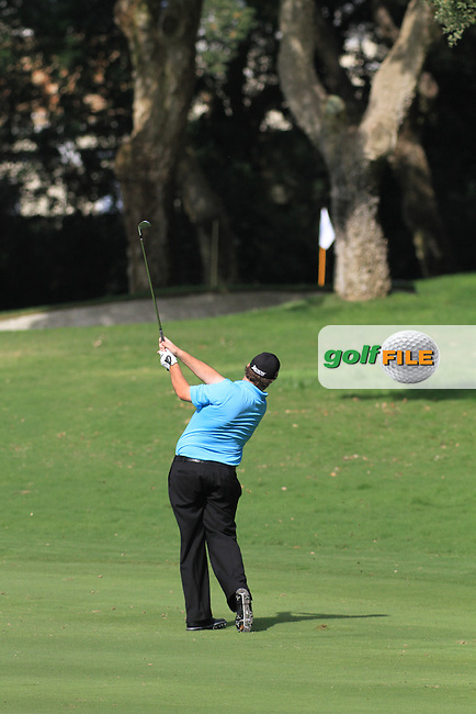 Shane Lowry (IRL) during the 1st day at the  Andalucía Masters at Club de Golf Valderrama, Sotogrande, Spain. .Picture Fran Caffrey www.golffile.ie