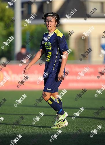 2015-07-26 / Voetbal / seizoen 2015-2016 / Ternesse VV / Matteo Cecchi<br /><br />Foto: Mpics.be