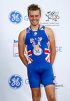 Photo: Richard Lane/Richard Lane Photography. GE Parc Bryn Bach Triathlon. 19/09/2010. Tom Bishop winner of the Junior Super Series Mens' race.