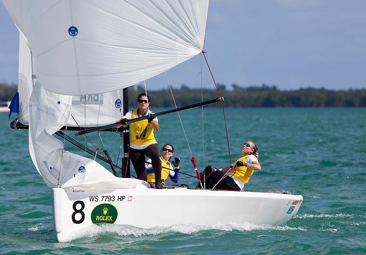 BRA1, Fleet: Womens Match Race, Crew: Renata Decnop, Gabriela Nicolino, Larissa Juk, Country: BRA