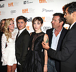 Maika Monroe, Zac Efron, writer Hallie Elizabeth Newton and actor Dennis Quaid with Director Ramin Bahrani attending the The 2012 Toronto International Film Festival.Red Carpet Arrivals for 'At Any Price' at the Princess of Wales Theatre in Toronto on 9/9/2012 attending the The 2012 Toronto International Film Festival.Red Carpet Arrivals for 'At Any Price' at the Princess of Wales Theatre in Toronto on 9/9/2012