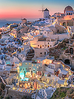 Santorini Lights