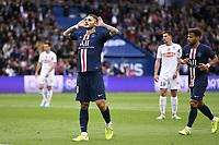 JOIE - 18 MAURO ICARDI (PSG)<br /> 05/10/2019<br /> Paris Saint Germain PSG - Angers <br /> Calcio Ligue 1 2019/2020 <br /> Foto Anthony Bibard Panoramic/insidefoto <br /> ITALY ONLY