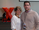 Aubrie Ricketts and Aron Erasmus during the Ted X event on Saturday, Jan. 27, 2018 at the Reno-Sparks Convention Center in Reno.