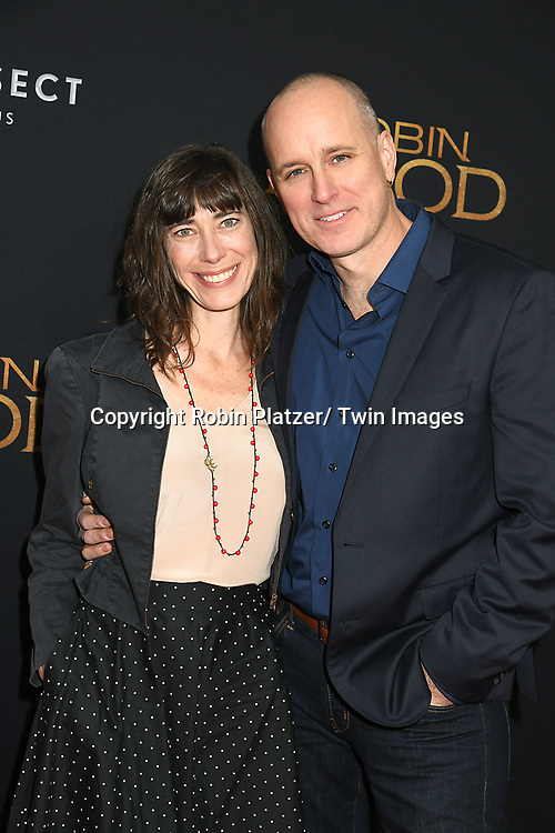 "actor Kelly AuCoin attends the New York Special Screening of ""Robin Hood"" on November 11, 2018 at AMC Lincoln Square in New York, New York, USA.<br /> <br /> photo by Robin Platzer/Twin Images<br />  <br /> phone number 212-935-0770"