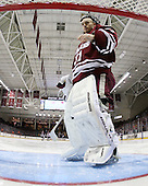 Paul Dainton (UMass - 31) - The Boston College Eagles defeated the University of Massachusetts-Amherst Minutemen 6-5 on Friday, March 12, 2010, in the opening game of their Hockey East Quarterfinal matchup at Conte Forum in Chestnut Hill, Massachusetts.