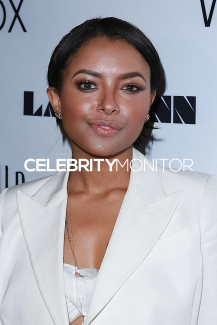 LOS ANGELES, CA, USA - DECEMBER 14: Kat Graham arrives at the Wayke Up Fundraiser presented by Wildfox and Ladygunn Magazine hosted by Nikki Reed held at the Sofitel Hotel on December 14, 2014 in Los Angeles, California, United States. (Photo by David Acosta/Celebrity Monitor)