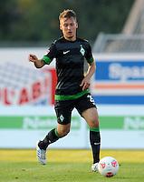 FUSSBALL   1. BUNDESLIGA   SAISON 2012/2013   TESTSPIEL  Werder Bremen - FC Aberdeen         25.07.2012 Tom Trybull (SV Werder Bremen) Einzelaktion am Ball