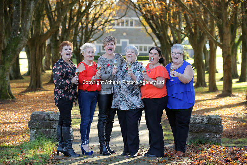 Pictured L-R: Julie Saunders, Doreen Thompson, Julie Amphlett, Jean Cairns, Louise Ward and SIan Jones. Wednesday 08 November 2017<br />