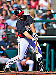 13 March 2010: Atlanta Braves' outfielder Mitch Jones in action during a Spring Training game against the Toronto Blue Jays at Champion Stadium in the ESPN Wide World of Sports Complex in Orlando, Florida. The Blue Jays shut out the Braves 3-0 in Grapefruit League action. Mandatory Credit: Ed Wolfstein Photo