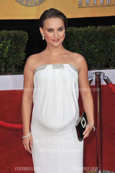 Natalie Portman at the 17th Annual Screen Actors Guild Awards at the Shrine Auditorium..January 30, 2011  Los Angeles, CA.Picture: Paul Smith / Featureflash