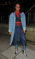 Annaliese Dayes at the Mark Hill haircare brand launch party ahead of the International Woman's Day, MV Hispaniola, Victoria Embankment, London, England, UK, on Wednesday 07 March 2018.<br /> CAP/CAN<br /> &copy;CAN/Capital Pictures